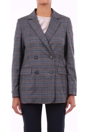 PESERICO SIGN Women Blazers - Blazer Women Fantasy virgin wool and elastane