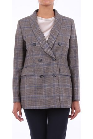 PESERICO SIGN Women Blazers - Blazer Women virgin wool and elastane