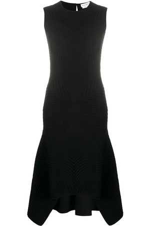 Alexander McQueen Sleeveless brocade knit dress