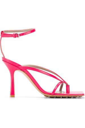 Bottega Veneta Stretch 90mm leather sandals