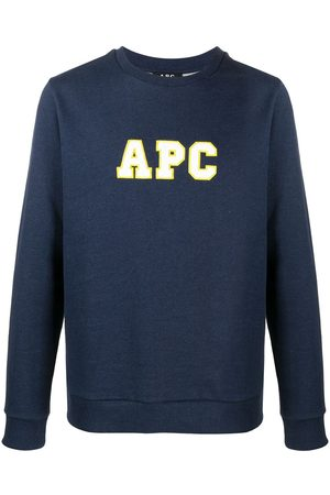 A.P.C Malcom embroidered logo sweatshirt