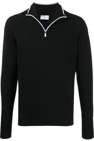 FEDELI Half-zip sweater