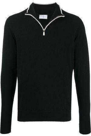 FEDELI Half-zip sweater