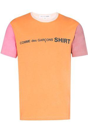 Comme des Garçons Colour-block crew-neck T-shirt