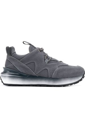 Mr & Mrs Italy Low-top lace up trainers - Grey
