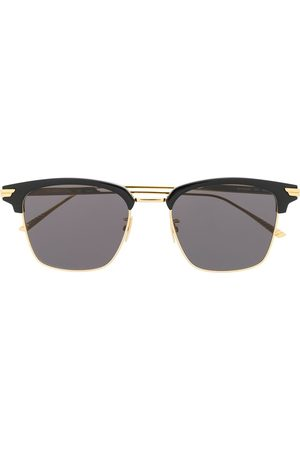 Bottega Veneta Square-frame tinted sunglasses