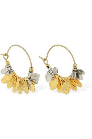 Isabel Marant New Leaves Hoop Earrings