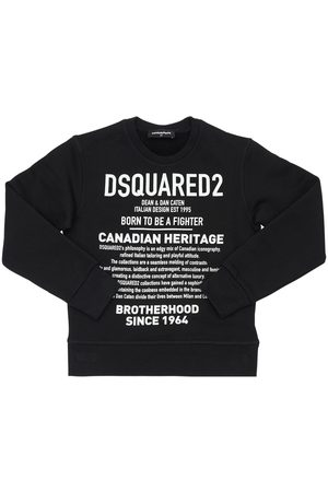 Dsquared2 Heritage Printed Cotton Sweatshirt