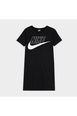 Nike Girls' Sportswear T-Shirt Dress Size Small 100% Cotton
