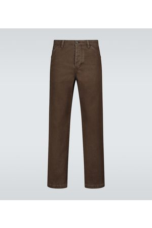 Acne Studios Aleq straight-fit cotton pants