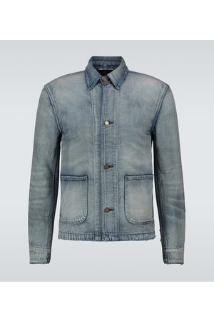 Saint Laurent Slim-fit denim jacket