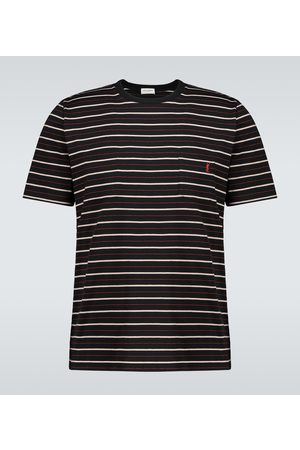 Saint Laurent Striped short-sleeved T-shirt
