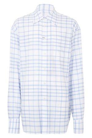 Marni Check oversized shirt