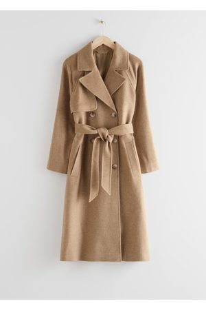 & OTHER STORIES Belted Trench Coat