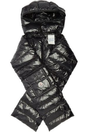 Moncler Hooded Quilted-down Scarf - Womens