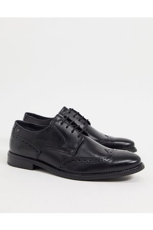 Base London Men Brogues - RISCO BROGUES IN LEATHER