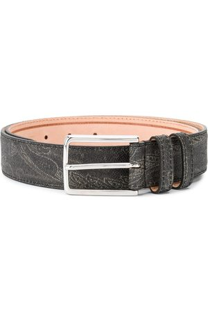 Etro Paisley-print belt