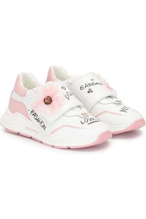 Dolce & Gabbana Floral motif sneakers