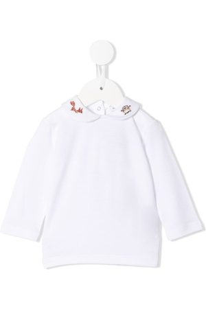 Dolce & Gabbana Embroidered collar blouse