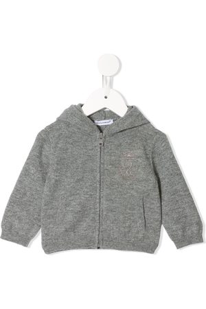 Dolce & Gabbana Cashmere knit hoodie - Grey