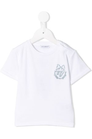 Dolce & Gabbana Logo embroidered t-shirt