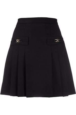 Sandro Pleated mini skirt