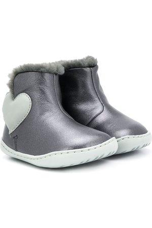 Camper Kids Love heart boots - Grey