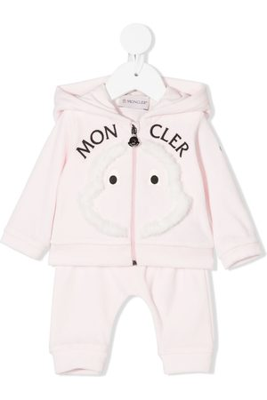 Moncler Sets - Embroidered logo tracksuit set