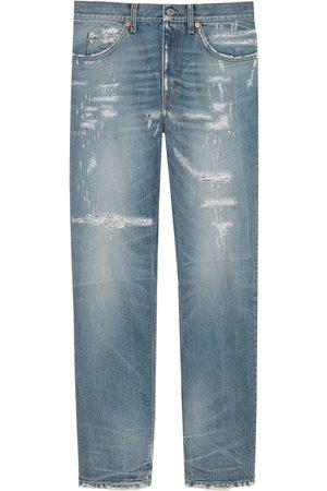 Gucci Eco-bleached organic denim jeans