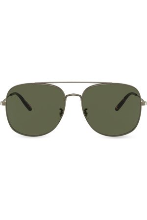 Oliver Peoples Aviators - Square aviator sunglasses
