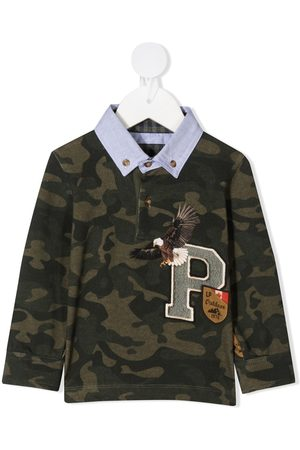 Lapin House Camouflage print polo
