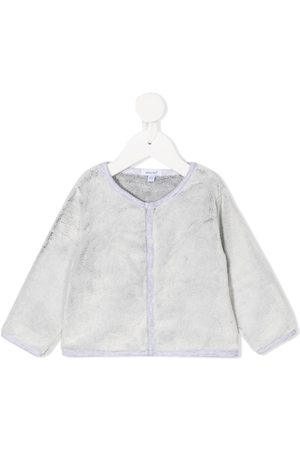 ABSORBA Button-up round neck cardigan - Grey