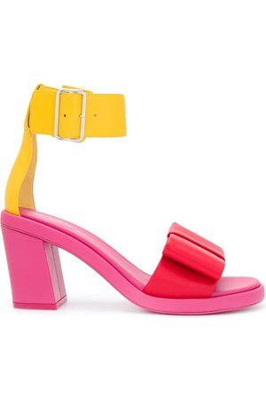 Comme des Garçons Colour-block ankle strap sandals
