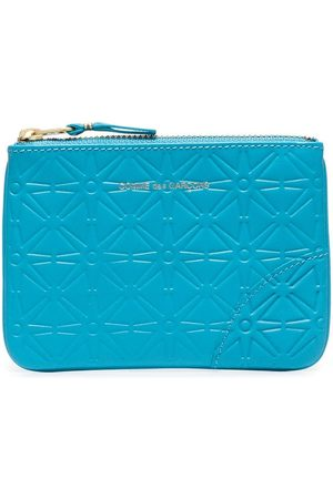 Comme des Garçons Embossed-design zipped wallet