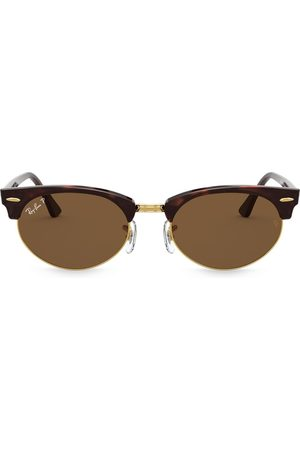 Ray-Ban Sunglasses - Clubmaster oval sunglasses