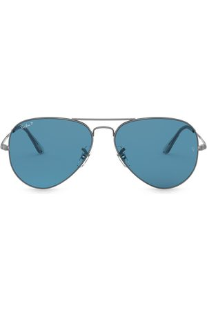 Ray-Ban Aviator shaped sunglasses - Metallic