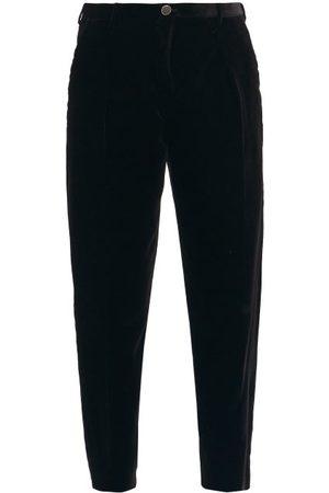 Saint Laurent Corduroy-velvet Cropped Trousers - Mens