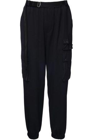 McQ Genesis Ii Wool Blend Cargo Pants
