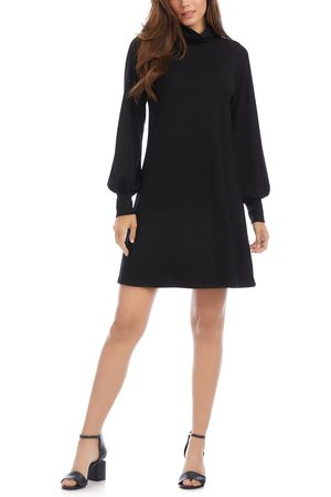 Karen Kane Women's Turtleneck Long Sleeve Dress