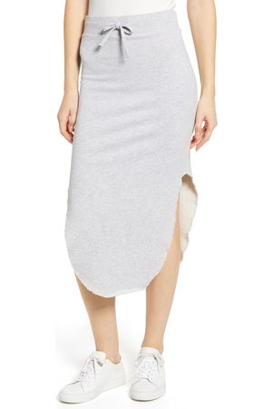 FRANK & EILEEN Women's Tee Lab Fleece Midi Skirt