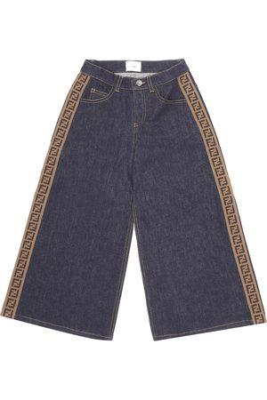 Fendi FF wide-leg jeans
