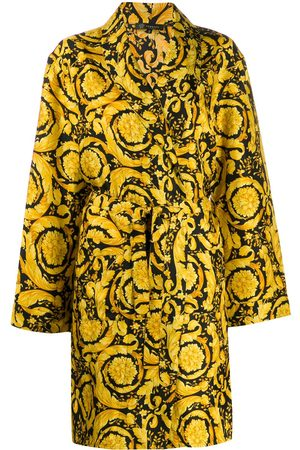 VERSACE Baroque-print dressing gown