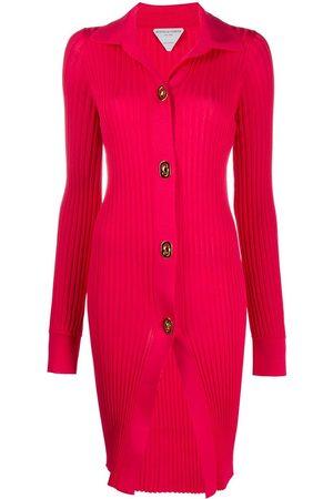 Bottega Veneta Women Cardigans - Ribbed long-length cardigan