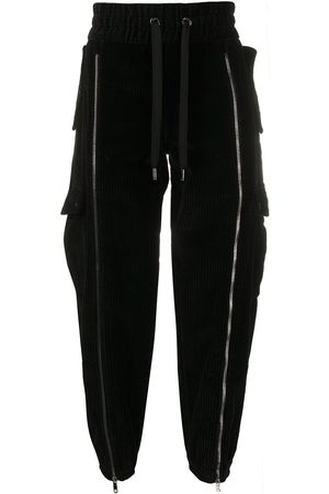 Dolce & Gabbana Drawstring drop-crotch trousers