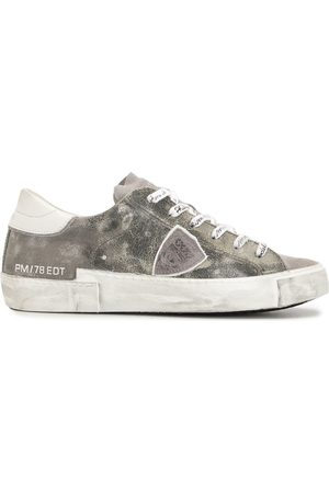 Philippe model Low-top leather sneakers