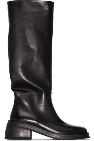MARSÈLL Women Thigh High Boots - Knee-high block heel boots
