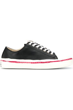 Marni Leather lace-up sneakers