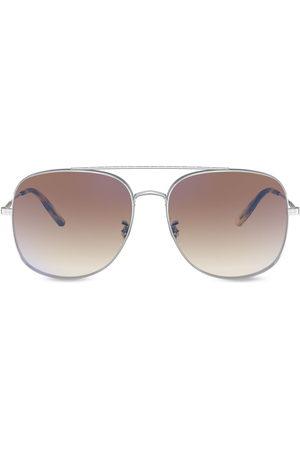 Oliver Peoples Aviators - Taron aviator-frame sunglasses