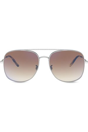 Oliver Peoples Taron aviator-frame sunglasses