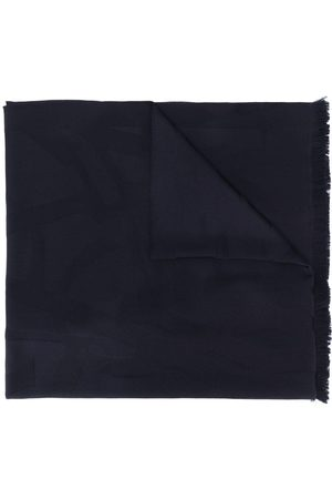 Saint Laurent Monogram wool scarf